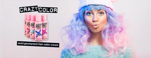 Crazy Corlor haarkleur semi permanent hair cream