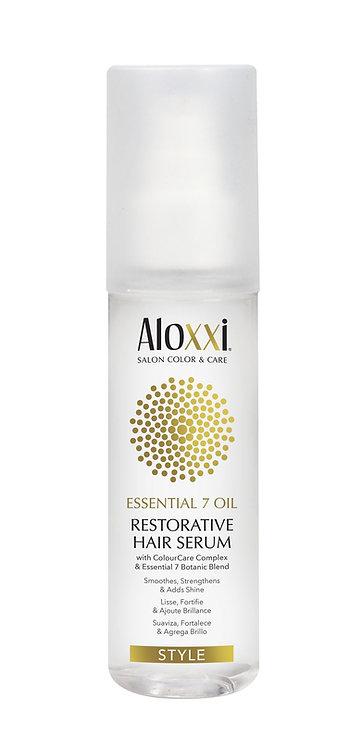 Aloxxi Essential 7 restorative hair serum 100ml