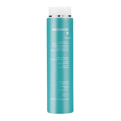 Medavita Solarich UV protectie Restruturing after sun shampoo shower gel 400ml