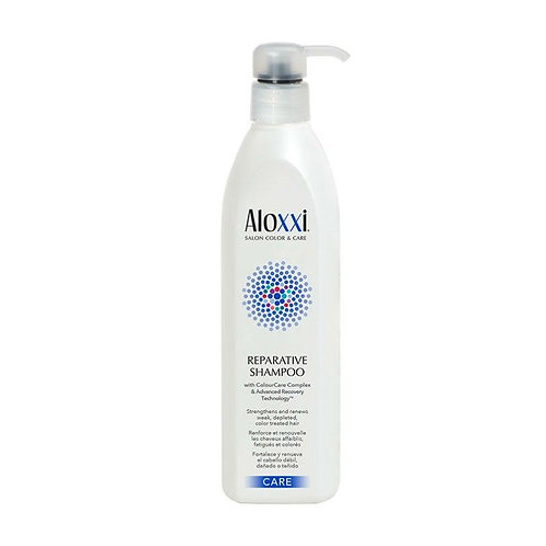 aloxxi reparative shampoo herstellende shampoo voor gekleurd droog en beschadigd haar