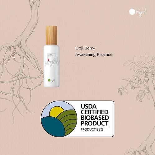O'right Goji Berry Awakening Essence usda certified biobased product