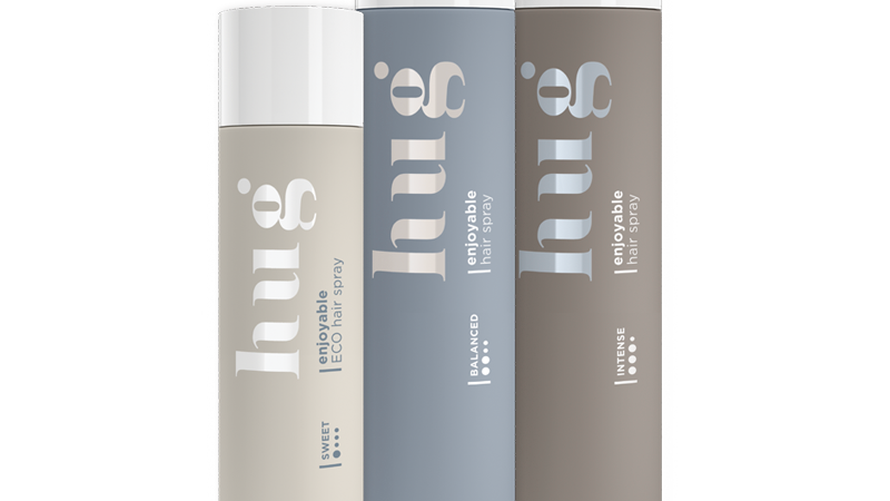 HUG Enjoyable Hair Spray Intense (400ml)