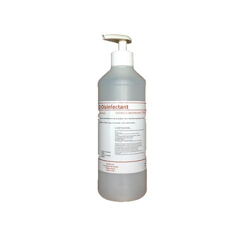 D-Disinfectant ontsmettende handalcohol 70%