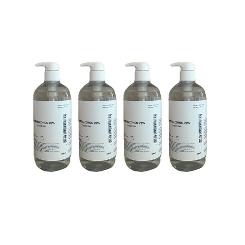 12x Aysun Welness verdikte desinfecterende alcohol handgel 70% - 250ml
