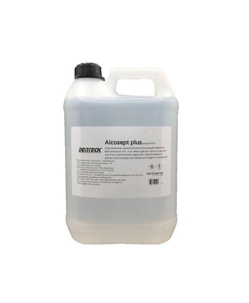 Denteck Alcosept Plus Desinfecterende Schoonmaak Alcohol voor oppervlakken, kappers, schoonheidsspecialisten, contactberoepen