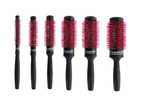 Medavita Tek ceramic antibacteric brush. Keramische haarborstel, brushborstels van hout.