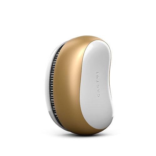 Cactus hairbrush barbora gold goud ontwarborstel haarborstel anti klit klitvrij