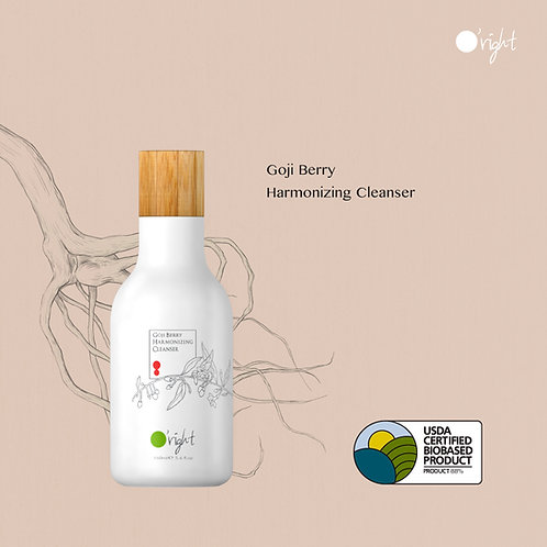 O'right Goji Berry Harmonizing Cleanser usda cerfitied biobased product
