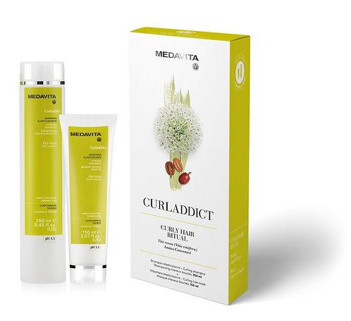 Medavita Curladdict shampoo en conditioner duo box - krullen