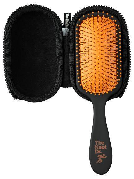 The Knot Dr. Pro sport haarborstel en ontwarborstel voor knoopvrije en klitvrije haren.