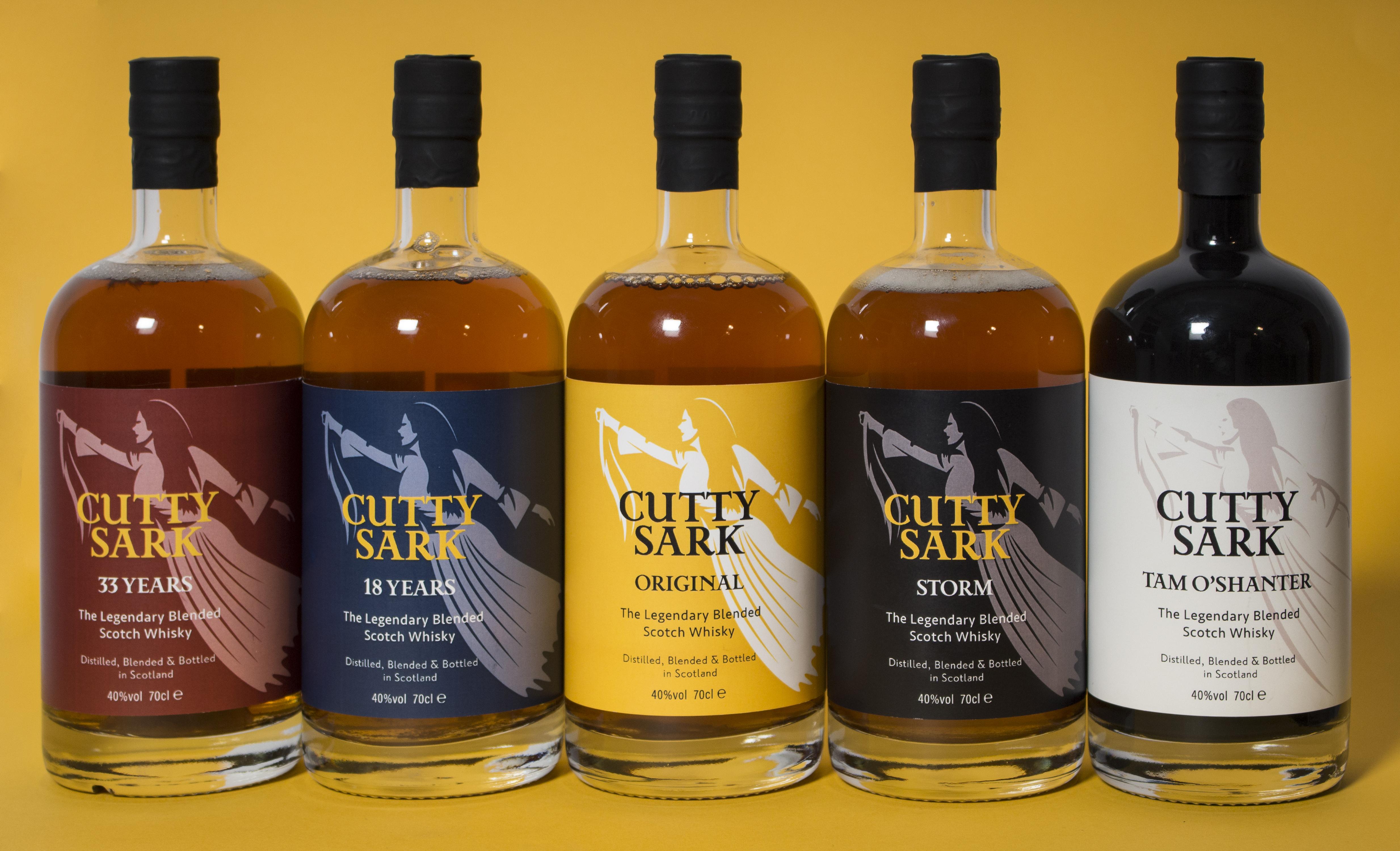 Cutty Sark bottle