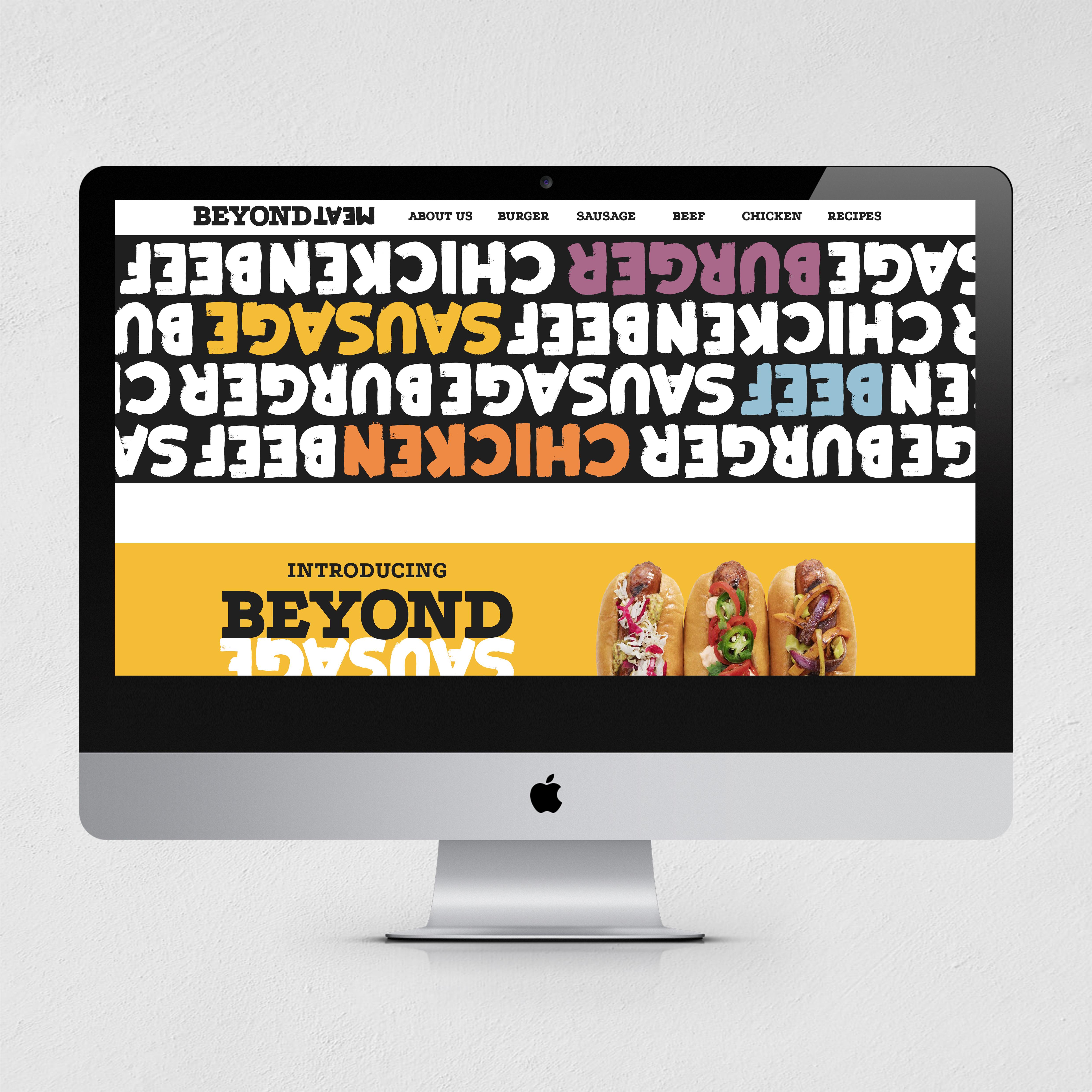 Beyond Meat website