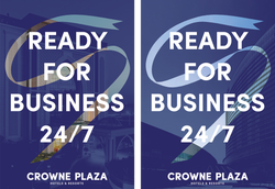 crowne plaza poster