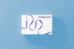 crowne plaza business card