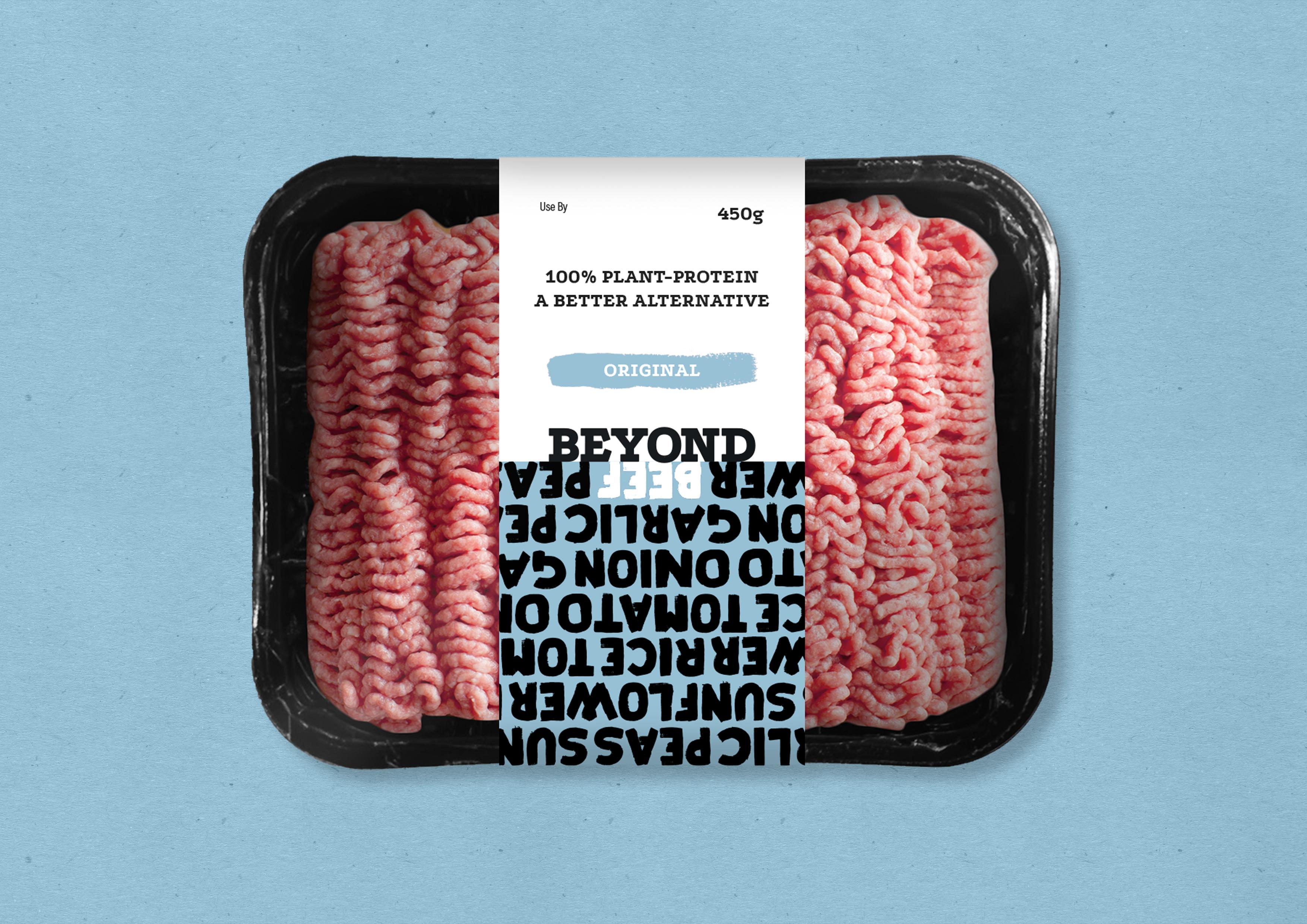 Beyond Beef packaging
