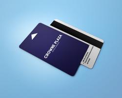 crowne plaza key card