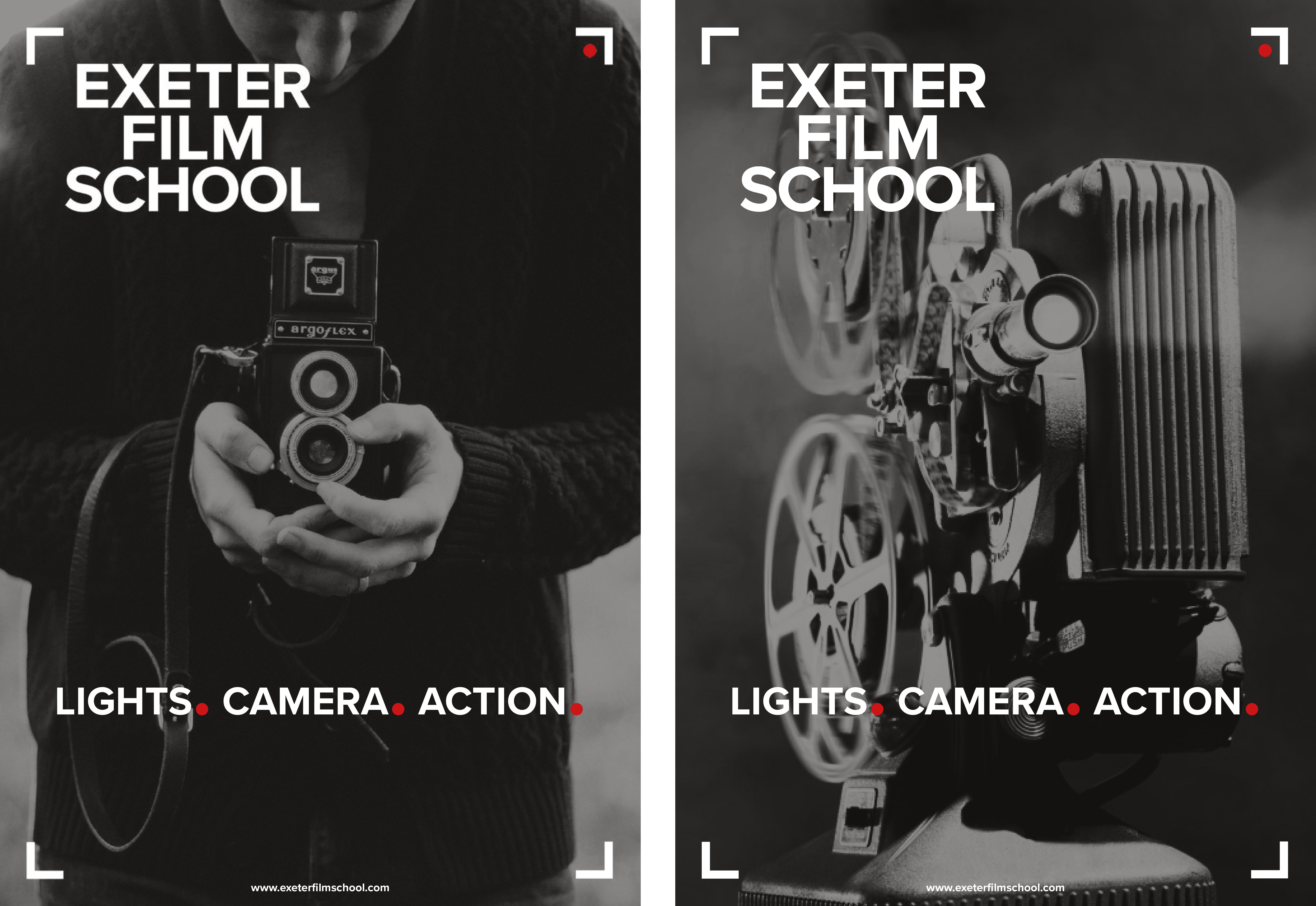 exeter film school poster