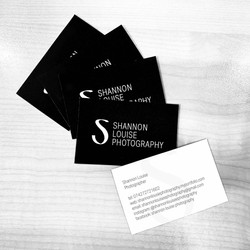 shannon louise photography business cards