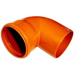 Отвод из ПВХ для труб для канализации