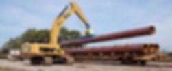 Монтаж труб и сетей наружной канализации в СПб и Ленинградской облачти