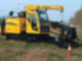Оборудование для прокладки трубопровода методом горизонтально направленного бурения ГНБ