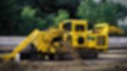 Траншеекопатель для монтажа трубопровода открытым способом
