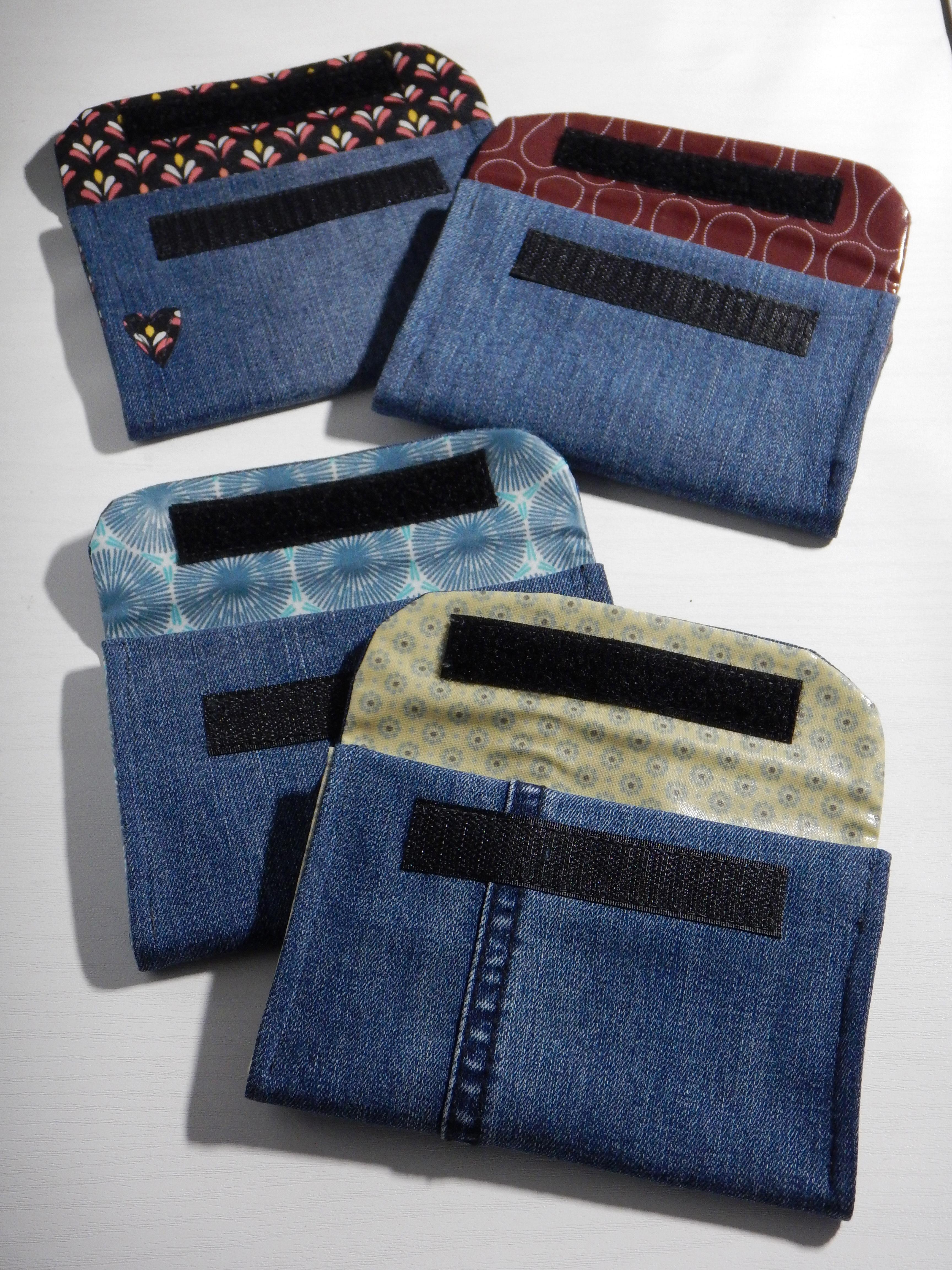 Varianten mit blauer Jeans