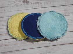 Abschmikpads Frottee oder Microfaser
