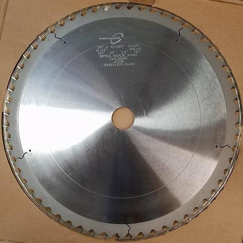 """HG-000320"""" Blade x 2"""" Bore x 60T"""