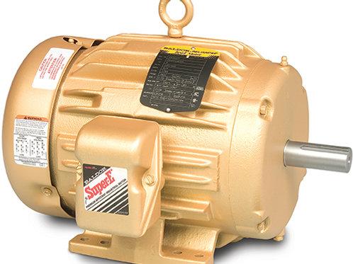 RH-0004-1 Saw Head Motor Baldor TEFC 5HP 3460rpm Keyless (with Arbor)