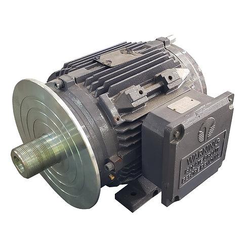 RH-0004-1 Saw Head Motor Techtop TEFC 5HP 3460rpm Keyless (with Arbor)