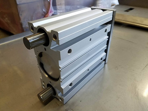 "PC-0012L SMC 4"" Guided Cyl w/ Bearings, XL-Saw Head (Dual Cylinder Models)"