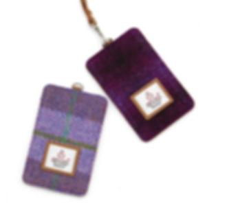Harris Tweed card holders