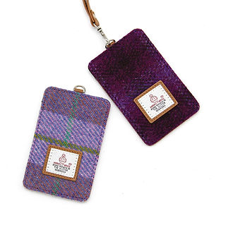 Harris Tweed card holders