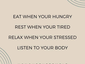 Tune Into Your Body