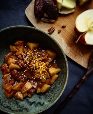 Stewed Apples with Dates