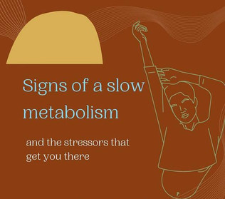 Signs of a slow metabolism
