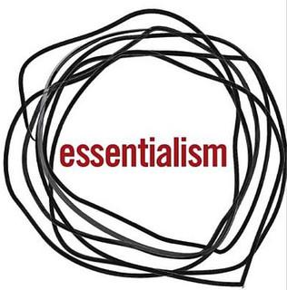 Book: Essentialism