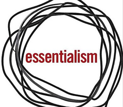 Book: Essentialism