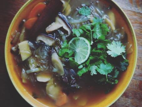 Ayurvedic Vegetarian Pho
