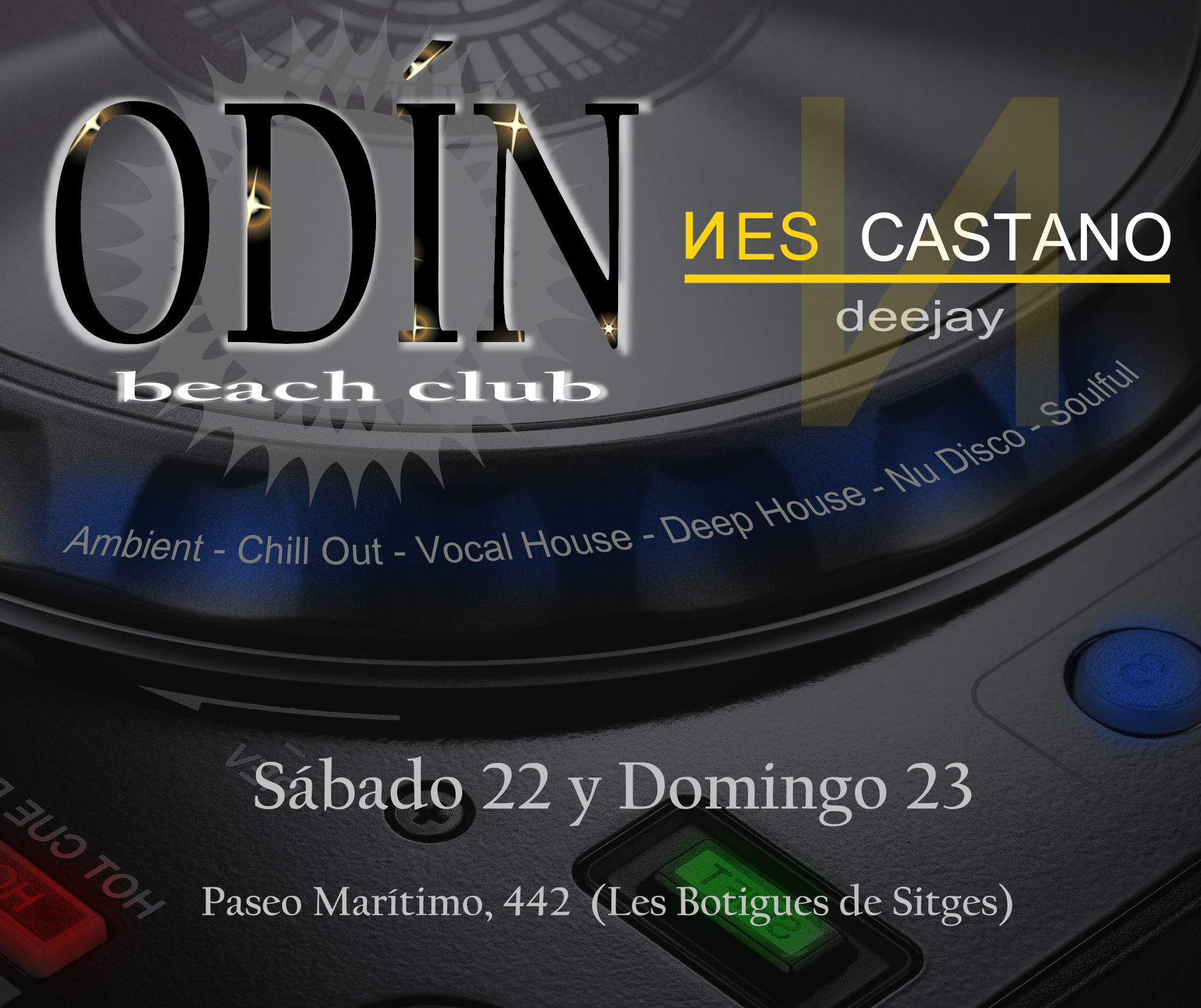 odin beach club promo II