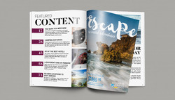 Table of Contents and Travel Ad
