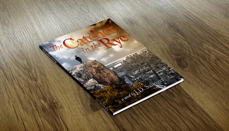 Book Cover Flat Mockup