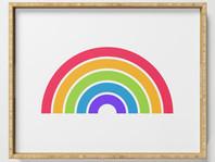 Classic Rainbow Added to Society6