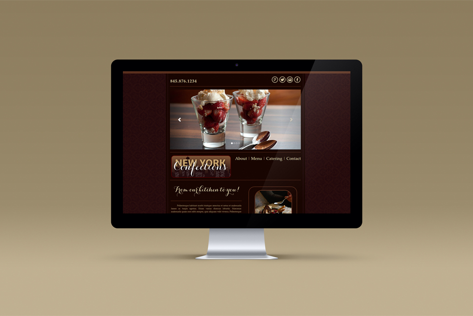 Final Website Design