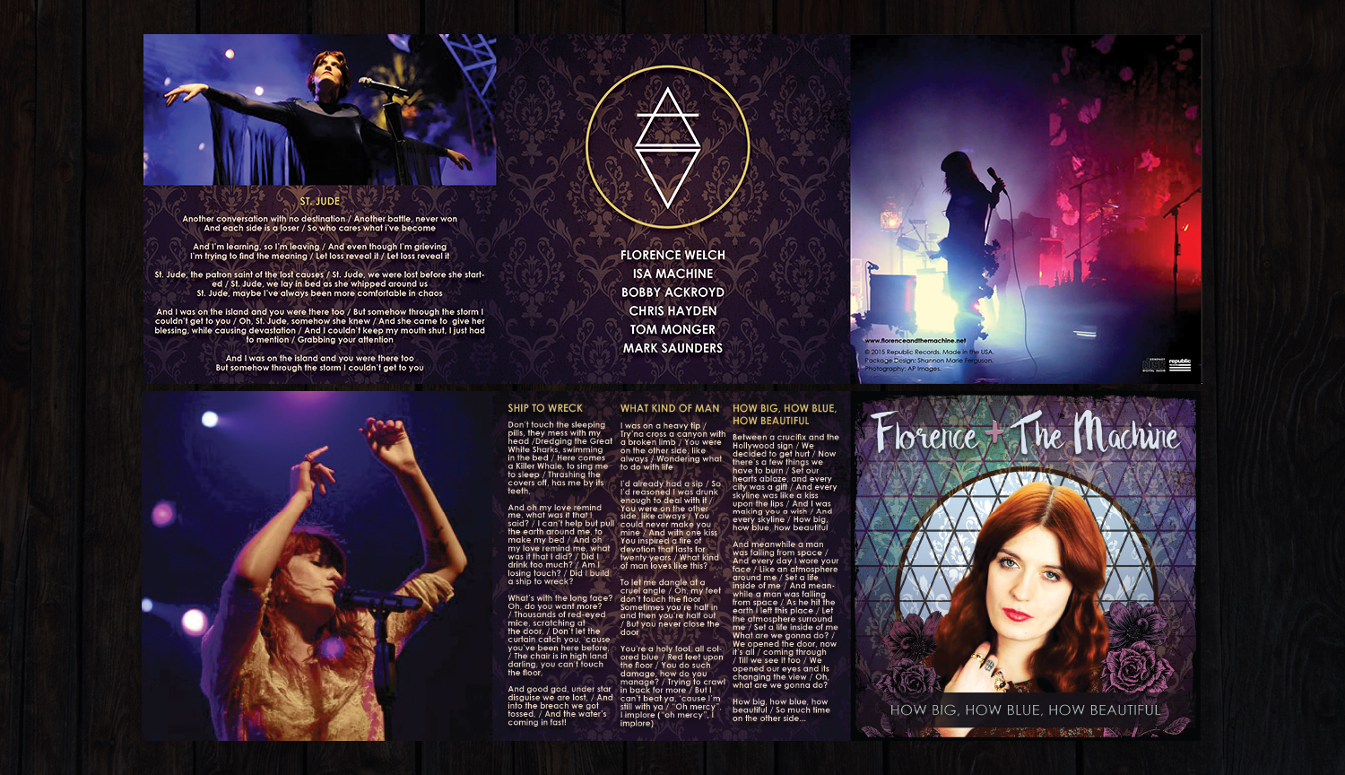 Trifold Album Booklet