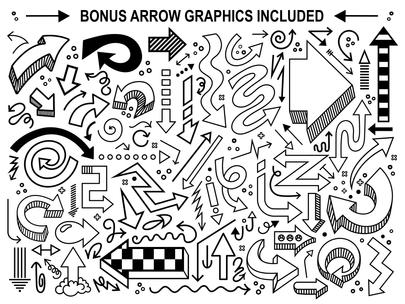 Hey Fox Font Trio Bonus Graphics