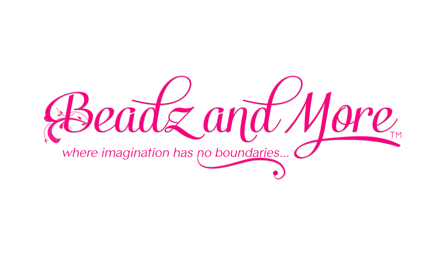 Beadz and More Logo and Tagline
