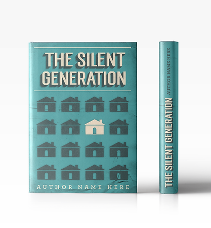 Book Cover & Spine Design Concept