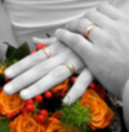 Selective Color Photo Edit Example for Wedding Photography